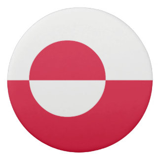 グリーンランドの旗 消しゴム
