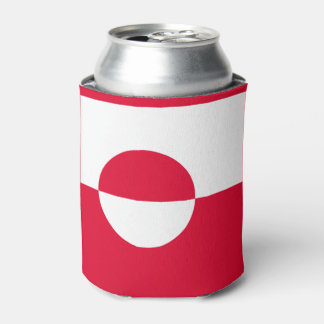グリーンランドの旗 缶クーラー