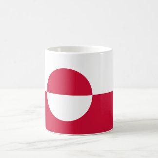 グリーンランドの旗GL コーヒーマグカップ