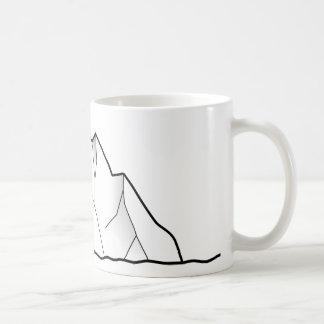 グリーンランドの氷山 コーヒーマグカップ
