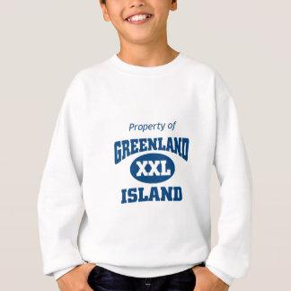 グリーンランドの特性 スウェットシャツ