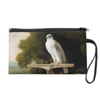 グリーンランドの《鳥》ハヤブサ(灰色の《鳥》ハヤブサ)、1780年(パネルの油 リストレット