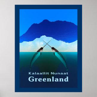 グリーンランド- Narwhal ポスター