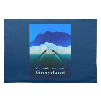 グリーンランド- Narwhal ランチョンマット