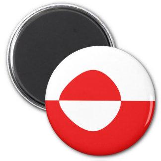 グリーンランドFisheyeの旗の磁石 マグネット