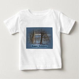 グリーンレーンの貯蔵所の幸せな休日のカナダのガチョウ ベビーTシャツ