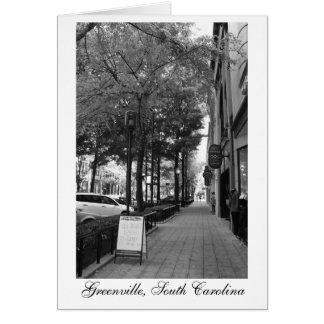 グリーンヴィルの都心の通り カード