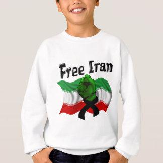 グリーン・ウェーブ、自由なイランを支えて下さい スウェットシャツ