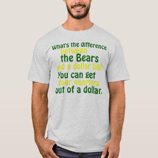グリーン・ベイ包装業者の競争相手のTシャツ Tシャツ