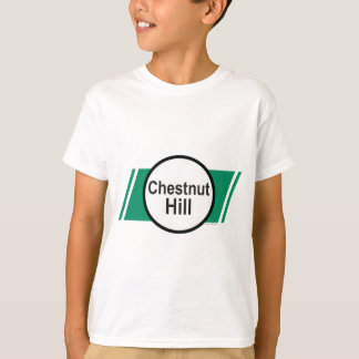 グリーン・ライン: Chestnut Hill Tシャツ