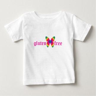 グルテンなしの蝶(数々のな) ベビーTシャツ