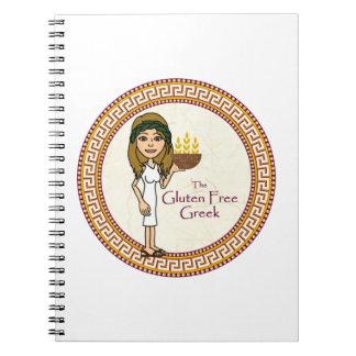 グルテンの自由なギリシャのノート ノートブック