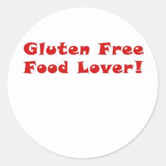 グルテンの自由な食糧恋人 ラウンドシール