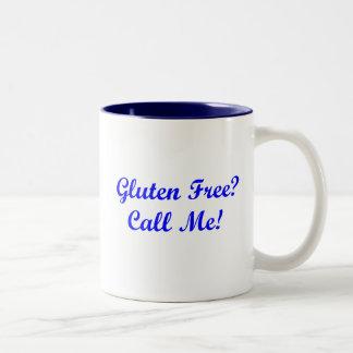 グルテンは放しますか。 私を電話して下さい! ツートーンマグカップ