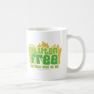 グルテンは放します コーヒーマグカップ