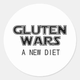 グルテン戦争: 新しいダイエットのCeliacグルテンは放します ラウンドシール