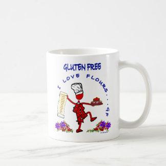 グルテン自由なI愛小麦粉 コーヒーマグカップ