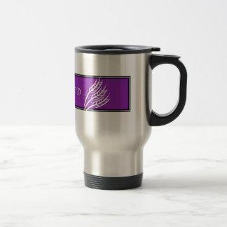 グルテンFree'D -紫色のクラシックなロゴ トラベルマグ