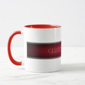 グルテンFree'D -赤いビロードのクラシックなロゴ マグカップ