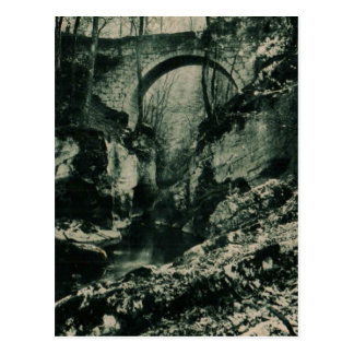 """グルノーブル橋""""グランデChartre""""の1955年のレプリカ ポストカード"""