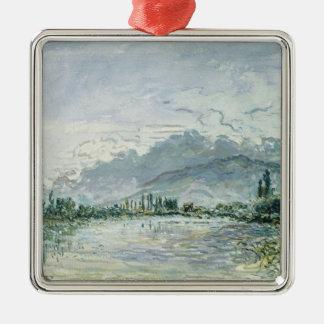 グルノーブル1877年の川イゼール メタルオーナメント
