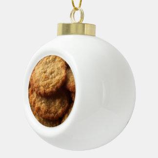 グルメのために焼けるおいしい砂糖クッキー セラミックボールオーナメント