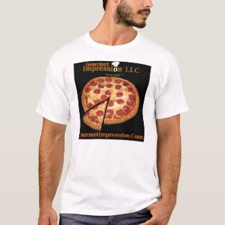グルメ向きの印象LLC Tシャツ
