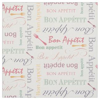 グルメ向きの台所糖菓のAppetitのパステルカラー ファブリック