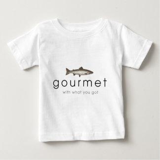 グルメ向きの魚 ベビーTシャツ