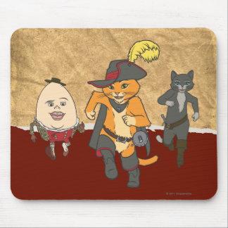 グループのランニング マウスパッド