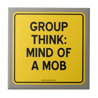 グループは考えます: 暴徒の心 タイル
