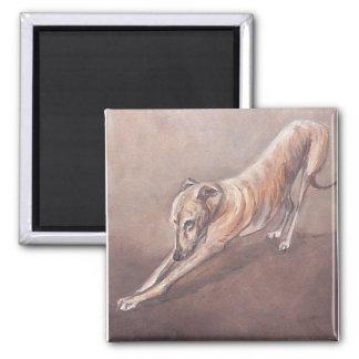 グレイハウンドの伸張犬の芸術の磁石 マグネット