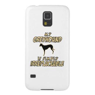 グレイハウンド犬のデザイン GALAXY S5 ケース