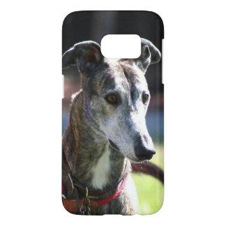 グレイハウンド犬のSamsungの銀河系s7の箱 Samsung Galaxy S7 ケース