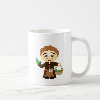 グレゴール・ヨハン・メンデル コーヒーマグカップ
