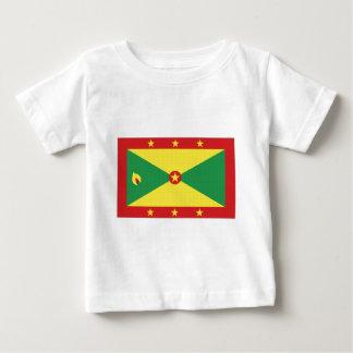 グレナダの国旗 ベビーTシャツ