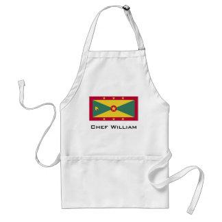 グレナダの旗 スタンダードエプロン