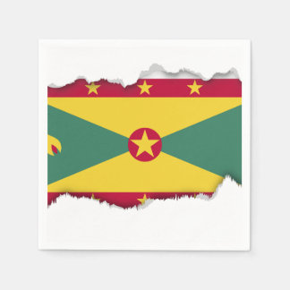 グレナダの旗 スタンダードカクテルナプキン