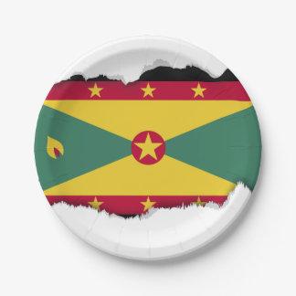 グレナダの旗 ペーパープレート
