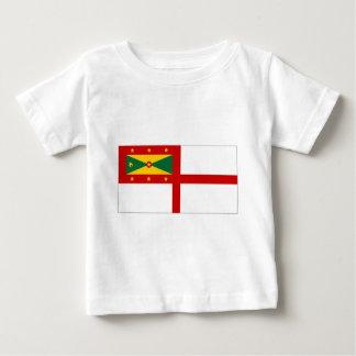 グレナダの海軍旗 ベビーTシャツ
