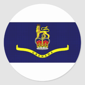 グレナダ総督旗 ラウンドシール