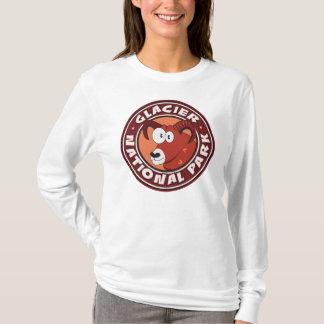 グレーシャー国立公園のラムの円 Tシャツ