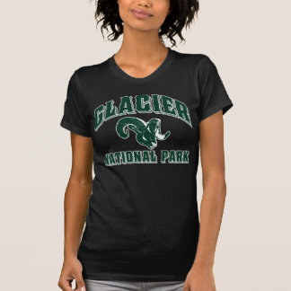 グレーシャー国立公園のラム Tシャツ
