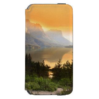 グレーシャー国立公園の野生のガチョウの島 iPhone 6/6Sウォレットケース