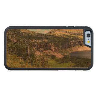 グレーシャー国立公園の隠された湖 CarvedチェリーiPhone 6バンパーケース
