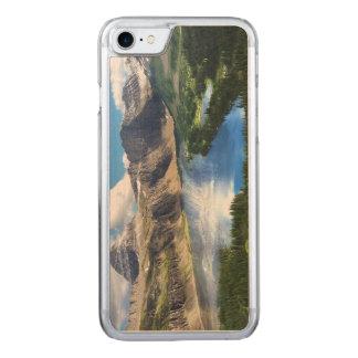 グレーシャー国立公園の隠された湖 CARVED iPhone 8/7 ケース