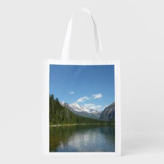 グレーシャー国立公園のavalanche湖I エコバッグ