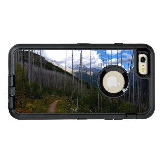 グレーシャー国立公園のHighlineの道の焼損 オッターボックスディフェンダーiPhoneケース