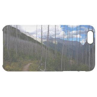 グレーシャー国立公園のHighlineの道の焼損 クリア iPhone 6 Plusケース