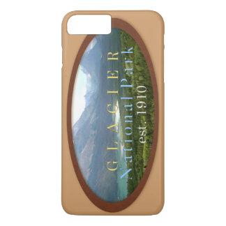 グレーシャー国立公園のiphoneの場合 iPhone 8 plus/7 plusケース